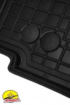 Коврики в салон для Fiat Scudo '07-16, 1.6 резиновые, черные (AVTO-Gumm)