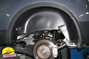 Подкрылок задний левый для Nissan Qashqai '06-14 (Novline)