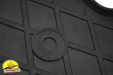 Коврики в салон для Skoda Kodiaq '17- резиновые, черные (Stingray)