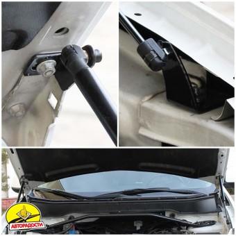 Газовые упоры капота для Mitsubishi Outlander XL '07-09, 2 шт.
