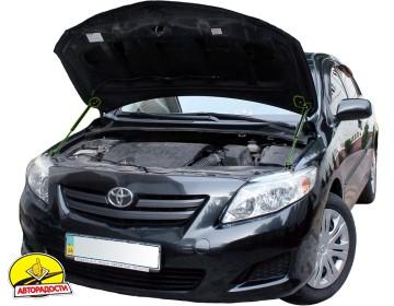Газовые упоры капота для Toyota Corolla '07-12, 2 шт.