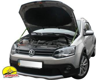 Газовые упоры капота для Volkswagen Polo '09-, 2 шт.