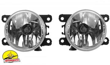Противотуманные фары для Nissan Leaf '10-17 комплект (Dlaa)