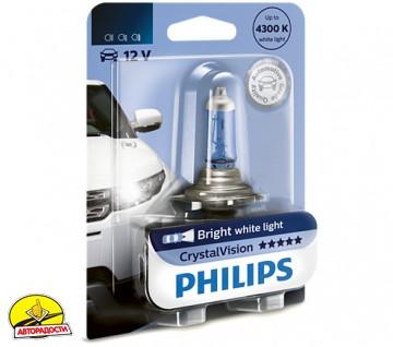 Автомобильная лампочка Philips CrystalVision H4 12V 60/55W