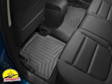 Коврики в салон для Mazda CX-5 '12-17 черные, резиновые 3D (WeatherTech)
