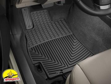 Коврики в салон для Subaru Forester '13- черные, резиновые (WeatherTech)