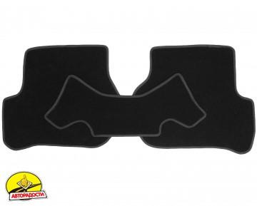 Коврики в салон для Skoda Octavia A5 '05-13 текстильные, черные (Стандарт) 4 клипсы