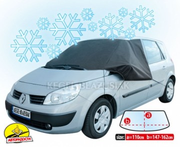"""Чехол против инея для переднего стекла """"Winter Plus Maxi Van"""" 110х162см"""