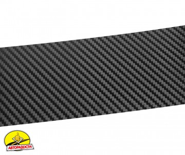 Наклейка на бампер для Mazda 5 '10-, карбон, черная (NataNiko)