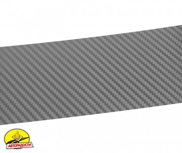 Наклейка на бампер для Mercedes Vito '03-13, карбон, серая (NataNiko)