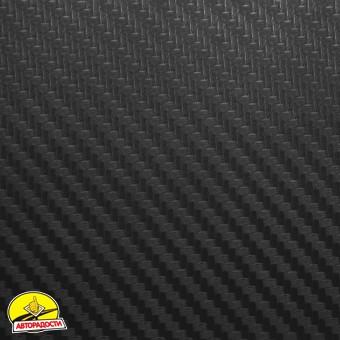 Наклейки на пороги для Citroen C4 Picasso '06-13, карбон, черные (NataNiko)