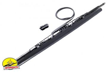 Щетка стеклоочистителя каркасная Oximo 550 мм. с форсунками WUSPR550