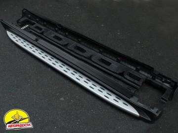 Пороги (подножки) для Mercedes GLE-Coupe C292 '15-  (ASP)