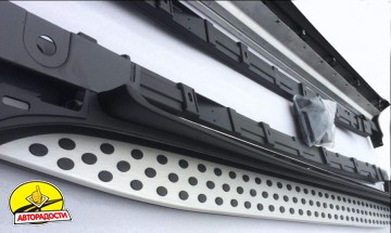 Пороги (подножки) для Mercedes GL-Class X164 '06-11 (ASP)