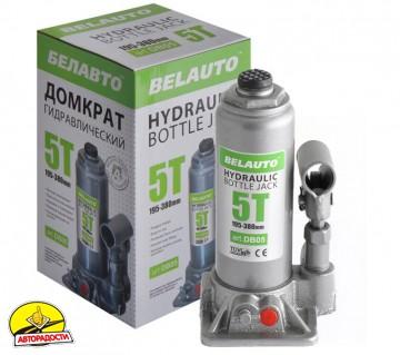 Домкрат автомобильный гидравлический бутылочный 5т.  DB05 (Белавто)