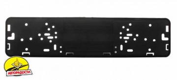 Рамка номера металлическая СarLife черная глянцевая