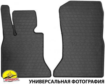Коврики в салон передние для DAF XF '13-, EURO 6 резиновые (Stingray)