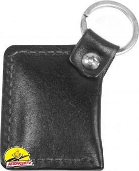 """Брелок для ключей черный с логотипом """"Mersedes"""" книжка"""
