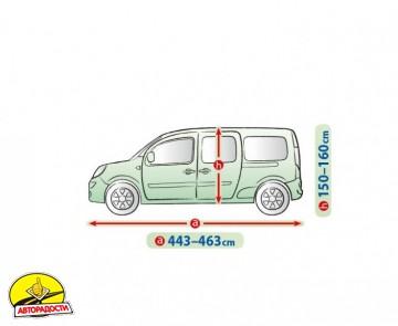 Тент автомобильный для минивена Mobile Garage XL LAV (Kegel-Blazusiak)