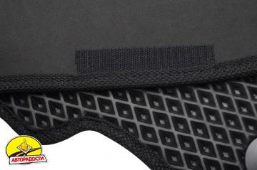 Коврики в салон для Skoda Octavia A5 05-13, EVA-полимерные черные (Kinetic)