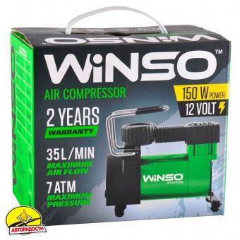 Компрессор автомобильный 7 Атм, 150 Вт. (WINSO) 121000