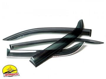 Дефлекторы окон для Chevrolet Aveo '11- седан (Auto Сlover)