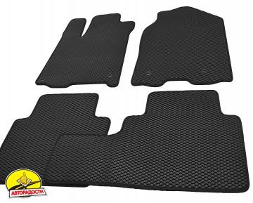 Коврики в салон для Acura RDX '14-18, EVA-полимерные, черные (Kinetic)