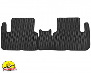 Коврики в салон для Chevrolet Tacuma '00-08, EVA-полимерные, черные (Kinetic)