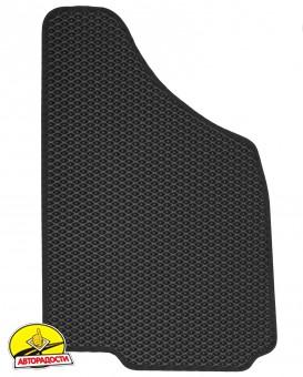 Коврики в салон для Daewoo Lanos / Sens '98-, EVA-полимерные, черные (Kinetic)