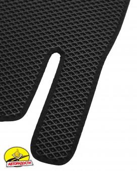 Коврики в салон для Hyundai Elantra AD '16-, EVA-полимерные, черные (Kinetic)