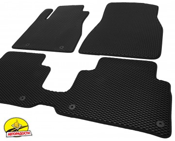 Коврики в салон для Lexus RX '03-08, EVA-полимерные, черные (Kinetic)