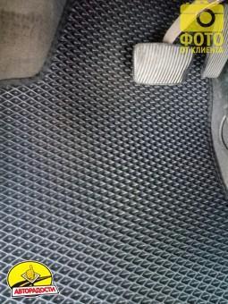 Коврики в салон для Opel Vectra B '96-02, EVA-полимерные, черные (Kinetic)