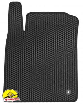 Коврики в салон для Opel Vectra C '02-08, EVA-полимерные, черные (Kinetic)