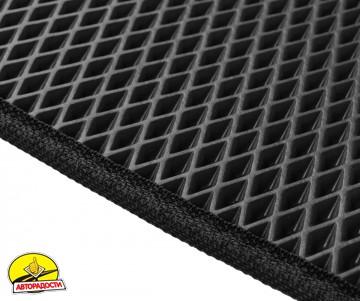 Коврики в салон для Opel Zafira B '05-13, EVA-полимерные, черные (Kinetic)