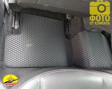 Коврики в салон для Renault Megane 3 '08-16, универсал, EVA-полимерные, черные (Kinetic)