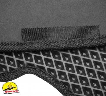 Коврики в салон для Samand EL / LX 06-, EVA-полимерные, черные (Kinetic)