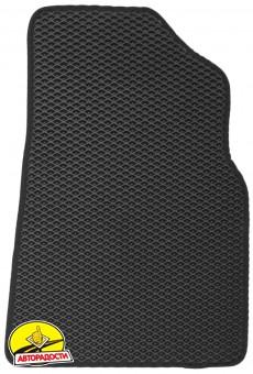 Коврики в салон для Toyota Camry V70 2018-, EVA-полимерные, черные (Kinetic)