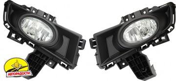 Противотуманные фары для Mazda 3 '07-09 комплект (Dlaa)
