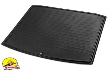 Коврик в багажник для Skoda Kodiaq '17-, двусторонний с откидным фартуком (VAG-Group) 565061163A