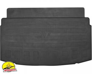 Коврик в багажник для Volkswagen Polo '17- хэтчбек, резиновый (Stingray)