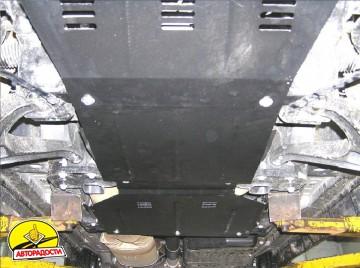 Защита двигателя и КПП, радиатора, редуктора для Jeep Commander '06-10, V-3,0CRD, АКПП (Кольчуга) Zipoflex