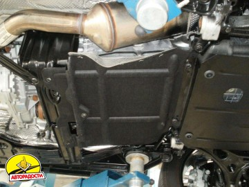 Защита двигателя и КПП, радиатора, редуктора для Jeep Grand Cherokee '11-, V-3,0D (Кольчуга) Zipoflex