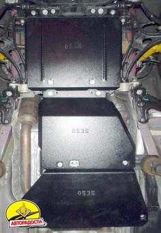 Защита двигателя и КПП, раздатки для Jeep Grand Cherokee '13-, V-6,4, АКПП (Кольчуга) Zipoflex