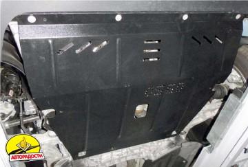 Защита двигателя и КПП, радиатора для Jeep Cherokee KL '14-, V-2,0 CRDI, АКПП (Кольчуга) Zipoflex