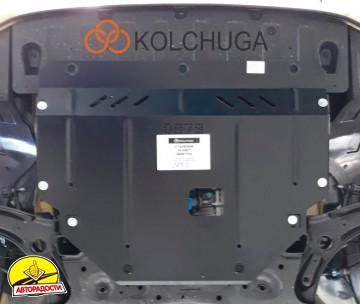 Защита двигателя и КПП, радиатора для Kia Picanto '17-, V-1,0; 1,2, АКПП, МКПП (Кольчуга) Zipoflex