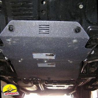 Защита двигателя и радиатора для Lexus LX 470 '02-07, V-4,7 (Кольчуга) Zipoflex