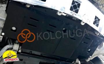 Защита радиатора для Mercedes-Benz GL-Class X164 '06-11, V-4,6і; 5,5і, АКПП, 4х4, амер, версия (Кольчуга) Zipoflex