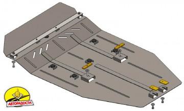 Защита двигателя и КПП для Mercedes Vito / Viano '10-13, V-2,2 СDI, задний привод (Кольчуга) Zipoflex