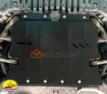 Защита двигателя для Mercedes E-Class W213 '16-, V-2,0 D, АКПП (Кольчуга) Zipoflex