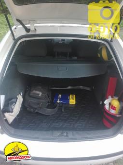 Коврик в багажник для Skoda Fabia '99-07 универсал, резино/пластиковый (Lada Locker)